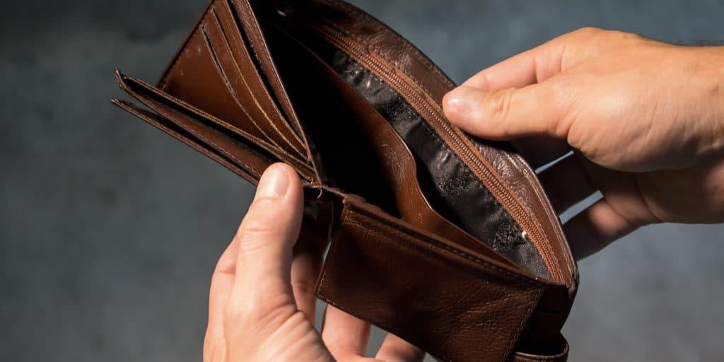 klant failliet