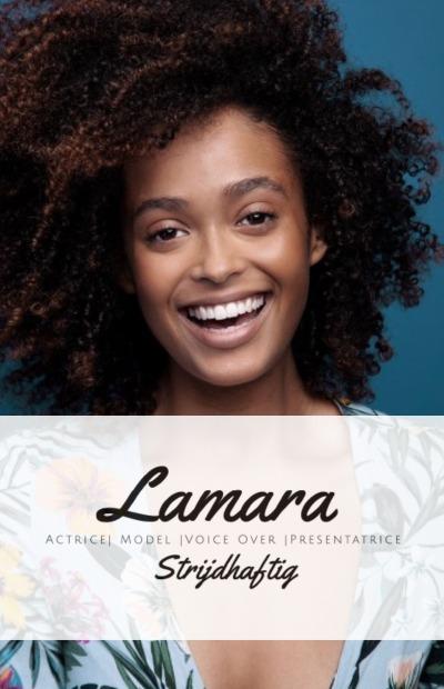 Logo en persoonlijke foto van Lamara Strijdhaftig